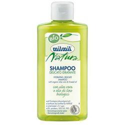 MILMIL BIO Organiczny szampon: len i aloes 300ml