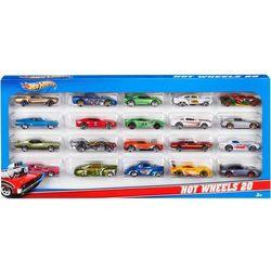 Mattel Hot Wheels Dwudziestopak losowych pojazdów