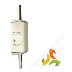 Wkładka topikowa zwłoczna gg WT-1C 100A, bezpiecznik przemysłowy ETI