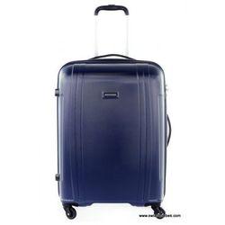 PUCCINI walizka średnia z kolekcji PC015 twarda 4 koła materiał Policarbonite zamek szyfrowy z systemem TSA