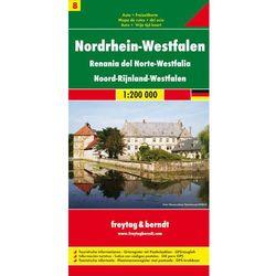 Niemcy: Westfalia / Nordhein-Westfalen 1:200 000. Mapa turystyczno-samochodowa. Freytag&Berndt (opr. twarda)