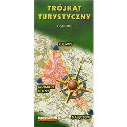 Trójkąt Turystyczny Kazimierz Dolny-Nałęczów-Puławy mapa 1:50 000