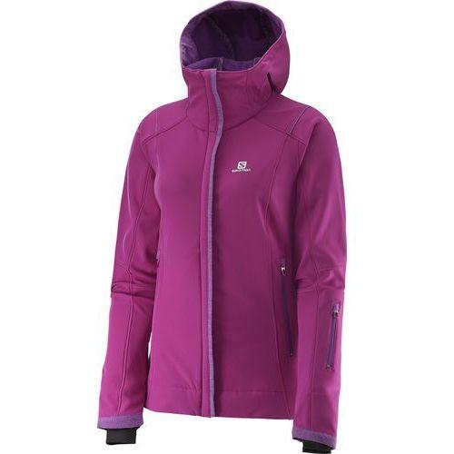 Salomon kurtka zimowa Snowcube Jacket W Aster Purple M