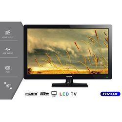 """Telewizor LED 19"""" USB HDMI VGA DVB-T MPEG-4/2 12V 230V"""
