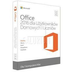 Microsoft Office 2016 dla komputerów Mac PL – wersja dla Użytkowników Domowych i Uczniów