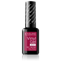 EVELINE VINYL GEL LAKIER WINYLOWY+TOP COAT 2W1 221 12ML