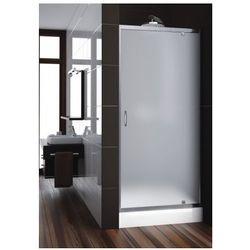 AQUAFORM drzwi Nigra 90 wnękowe, profile chrom, szkło satinato 103-092112
