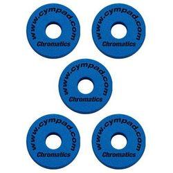 Cympad Chromatic 40/15mm Set Blue podkładki do talerzy perkusyjnych (5 szt.), niebieskie