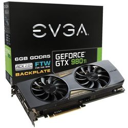 EVGA GeForce GTX 980Ti 6144MB 384bit FTW Gaming ACX 2.0