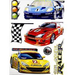 naklejka na ścianę samochody wyścigowe WG 108