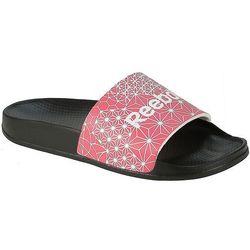 sandały Reebok Reebok Original Slide - Braziling Pink/Black/White