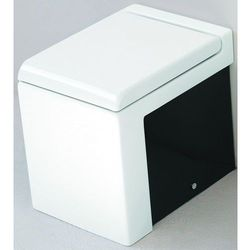 Art Ceram La Fontana miska wc stojąca biało czarna LFV00501;50