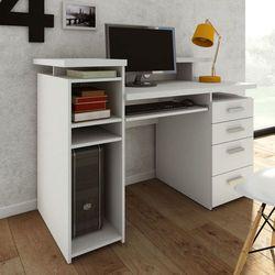 FUNCTION biurko białe z nadstawką