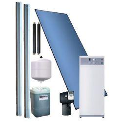 System grzewczy z kompaktową pompą ciepła do c.w.u. wspomagana kolektorem słonecznym PS/PC BASIC 2,5 m2, 1/WWK 300 SOL - 3-5 osób