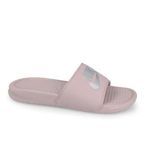 4e8c2a9fc Klapki Nike Benassi Jdi 343881 614 - RÓŻOWY - porównaj zanim kupisz