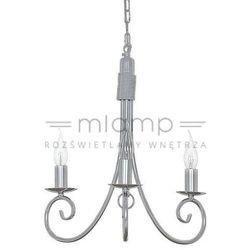 Żyrandol LAMPA wisząca SILVERADO 5416 Nowodvorski świecznikowy ZWIS metalowy IP20 maria teresa srebrny