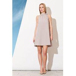 06bef1805ac8de suknie sukienki 1102 3 sukienka zawiazywana na szyi czarna ...