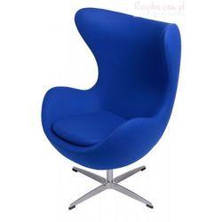 Fotel Jajo niebieski kaszmir #19