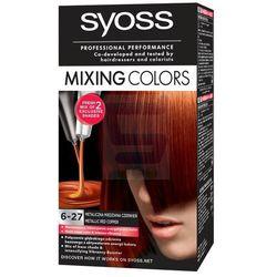 Syoss Farba do włosów mixing colors 6-27 Metaliczna Miedziana Czerwień