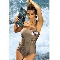 4ba4f9da2a64eb Jednoczęściowy strój kąpielowy Kostium Kąpielowy Model Shila M-202 Khaki -  Marko