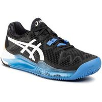 Buty ASICS - Gel-Resolution 8 Clay 1041A076 Black/White 001