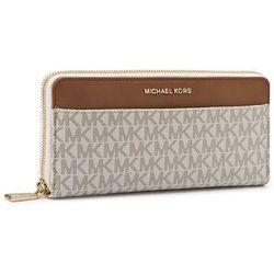 715d3fa6325ca portfele portmonetki michael michael kors continental portfel brown ...
