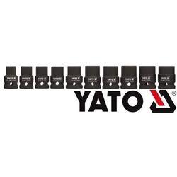 YATO Zestaw nasadek udarowych 1/2 cala 10 szt. YT-1025