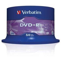 DVD+R VERBATIM AZO 4.7GB 16X Matt Silver SPINDLE 50SZT- wysyłka dziś do godz.18:30. oszczędzaj czas - zamówisz i masz!
