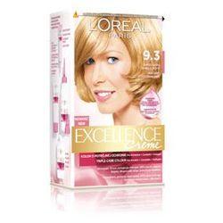 Excellence Creme farba do włosów 9.3 Bardzo jasny blond złocisty