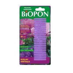 Pałeczki do roślin kwitnących Biopon (30 sztuk)