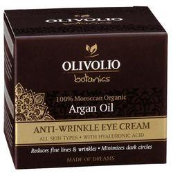 Olivolio Przeciwzmarszczkowy krem pod oczy z ekologicznym olejem arganowym 30ml