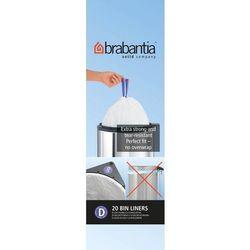 Brabantia - Worki na śmieci - Rozmiar D – 15L - 20 szt