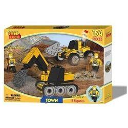 Klocki Best Lock Town Maszyny budowlane 132 elementy