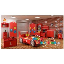 Łóżko samochód STANDARD z szufladą do pokoju dla dzieci BABY BEST