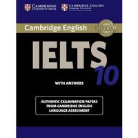 Cambridge IELTS 10 Students Book with Answers (opr. miękka)