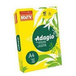 Papier ksero Rey Adagio A4/160g żółty