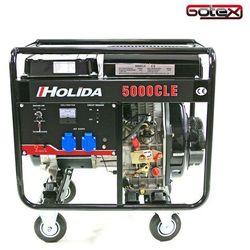 Generator prądu HOLIDA 5000CLE jednofazowy 5 kW EL. zapłon