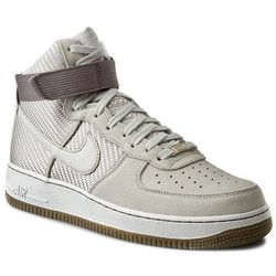 Buty NIKE - Air Force 1 Hi Prm 654440 004 Light Bone/Light Bone