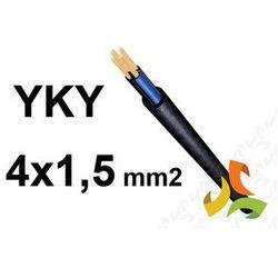 KABEL YKY 4x1,5mm2 PRZEWÓD ZIEMNY MIEDZIANY