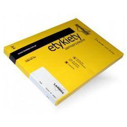etykiety samoprzylepne LAMBDA - na CD 3 szt. 100 arkuszy A4 białe