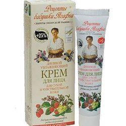 Krem do twarzy z jonami srebra na dzień do skóry suchej i wrażliwej 40 ml - receptury babci agafi - agafi
