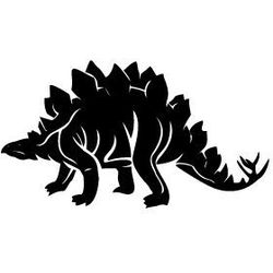 Szablon malarski z tworzywa, wielorazowy, wzór dla dzieci 28 - dinozaur