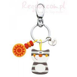 Breloczek na klucze kot