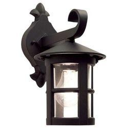 Zewnętrzna LAMPA ścienna HEREFORD BL21 Elstead KINKIET metalowa OPRAWA ogrodowa IP43 outdoor czarny