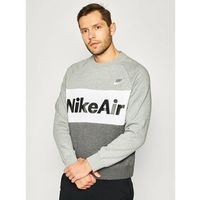 NIKE Bluza Air CJ4827 Szary Standard Fit