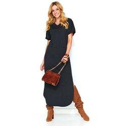 6aca13de49 suknie sukienki sukienka dresowa maxi - porównaj zanim kupisz