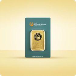 10 uncji Sztabka złota CertiCard
