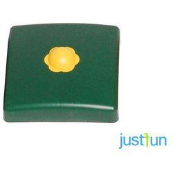 Plastikowa nakładka na belkę kwadratową 100x100 mm - zielony