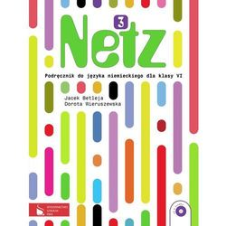 JĘZYK NIEMIECKI KL. 6 SP PODRĘCZNIK. NETZ 3 (opr. broszurowa)