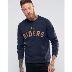 Lee Riders Crew Sweatshirt Navy - Navy
